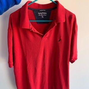 Nautica polo shirt size XL